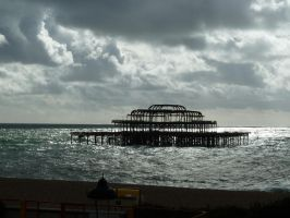 The West Pier by LadyCharis