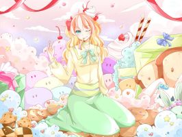 Sweets Wonderland ... by annJu-chan