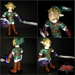 Small Twilight Princess Link Clay Statue by DanielMejia12