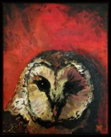 Totemic Animals: The Owl by mruqe