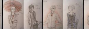 K Project couples (Scetches) by Dia-Yama073