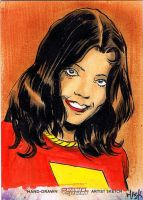 Women of Legend 39: Mary Marvel by RobertHack