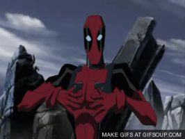DEADPOOL- Im Alive... not by Rinzler-chan