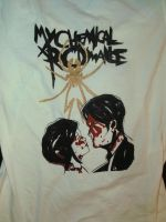 Original My Chemical Romance T-Shirt Design by NeeNeeFox