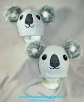Cuddly Koala hats by The-Cute-Storm