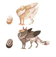 Hatched Adopts by Kel-Del