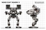 Mad Cat Mark II Blueprint by Walter-NEST