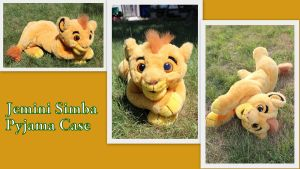 Jemini Simba Pyjama Case by Laurel-Lion