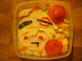 Soul Eater bento by bookadict