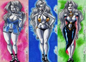 Lady Death 1 by eisu