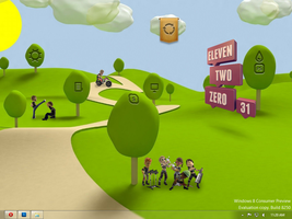 my Desktop Rainmeter 07 March 2012 by Faisalharoon