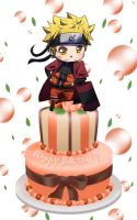 Happy Birthday Uzumaki Naruto 10.10.2013 by ng9