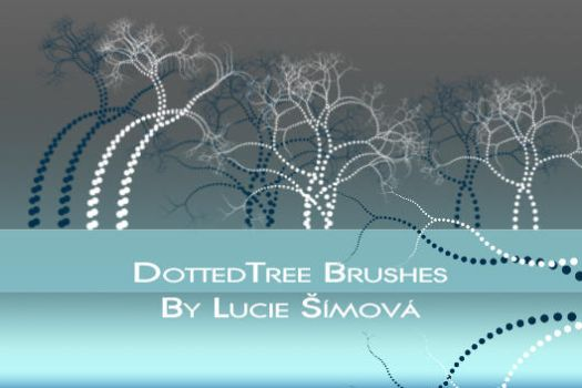 DottedTreeBrushes by markyfan