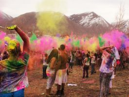 Festival Of Colors II by MandaIrene