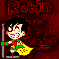 Robin the boy Wonder by DannyPhantomFreek