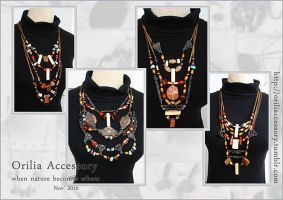 ethnic necklace by aurilianalence