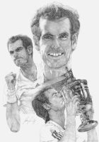 Andy Murray US Open Champion by Lucas-21