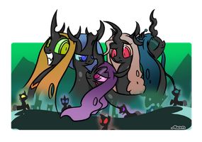 MLP: The Queens Banner by SrMario