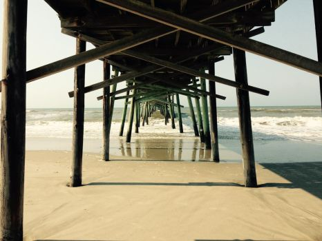 Beneath the Pier by TheHeartwoodStudio