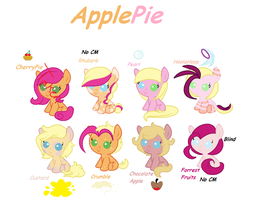 ApplePie OTA Adopts by ThePotato-Queen