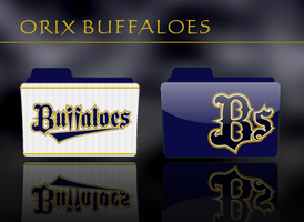Orix Buffaloes Folder Icon by kyoro3