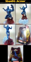 DieCast Iron Man repaint by KyleRobinsonCustoms