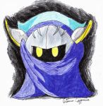 Meta Knight color by turbomun