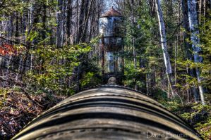 The Old Water Tower - HDR by InOnesMindsEye