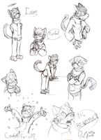 Doodle Page - Ivan by PaashTheSneasel