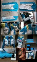 Aoba jacket arm by YoiteBlue