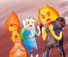 It's all Jake's fault by SharpieSam