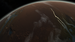 Low Orbit over Mars by fmilluminati