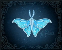 Butterflies - Snow Moth by Rittik