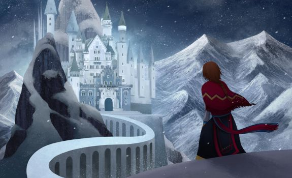 snow queen's castle by gin-1994