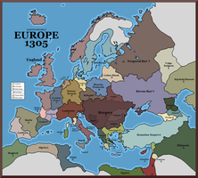 Hastingsworld - Europe 1305 by Neethis