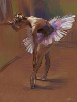 Ballet Dancer by zhuzhu