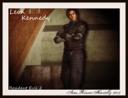RE2 Leon S Kennedy by IamRinoaHeartilly