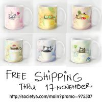 last day FREE shipping on my s6 shop! by bemain