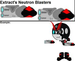 Extract's Neutron Blasters by YellowNinja123