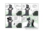The Count and his maid -4koma- by kana2319