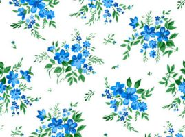 floral bouquet pattern by backgroundsfind