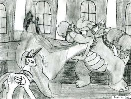 Bowser VS Celestia by DrChrisman