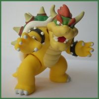 Bowser Figure by ras-blackfire