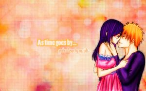 Wallpaper Love IchiRuki by Erian-7