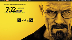 The one who Knocks. Updated Gotham Conky. by speedracker