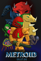 Metroid Tribute by Farore769