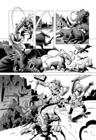 TALES OF AVALON Pag.19 inks by benitogallego