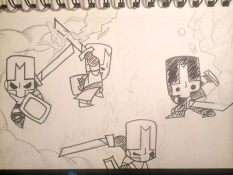 Sketchbook - Castle Crashers by shudso