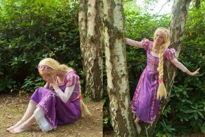 [Cosplay - Disney - Rapunzel] Just left the tower by mene