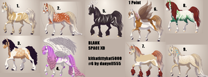 Horse Adopts (free except for one) by Amazing-Max